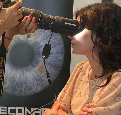 Irene Antonucci e i suoi bellissimi occhi verdi